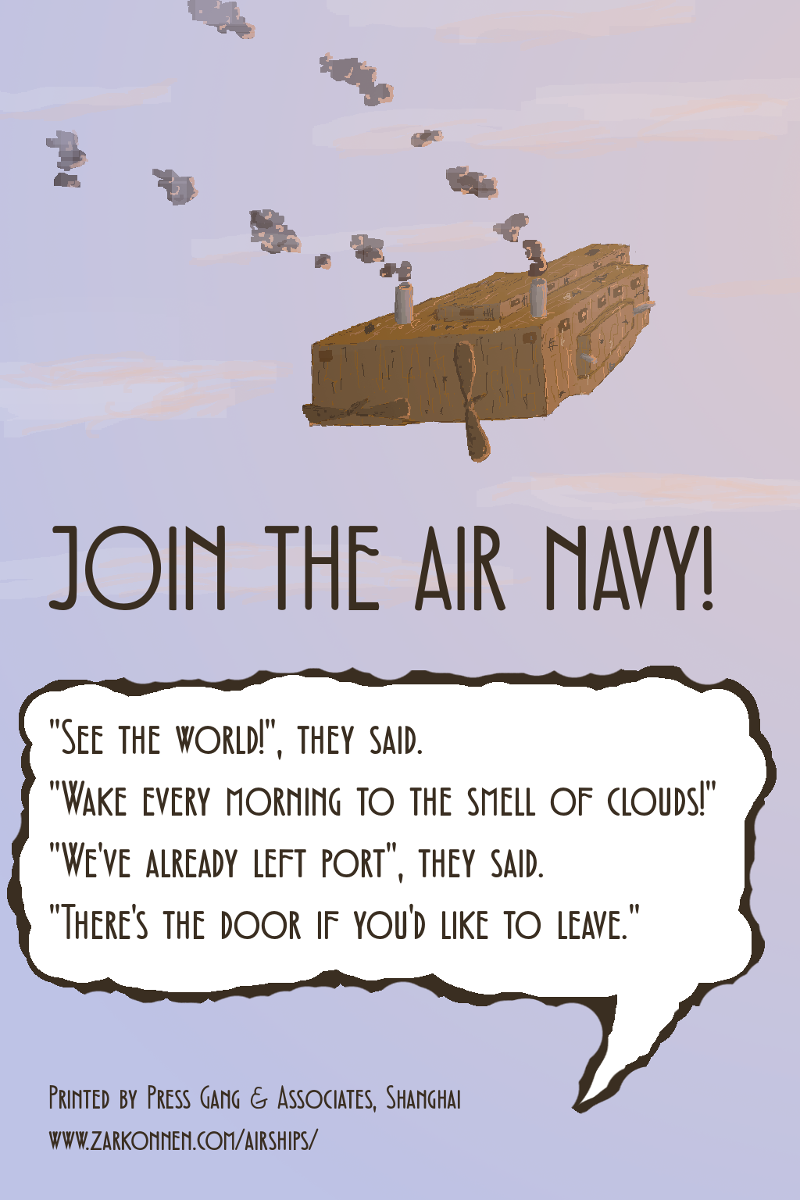 Join the Air Navy