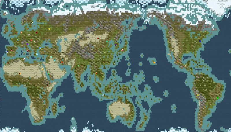 Civ V Earth map